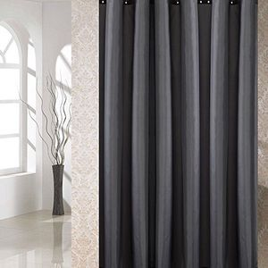 Other - Dark gray shower curtain 72x80 polyester New